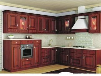 Классическая угловая кухня  - Мебельная фабрика «Три кита»