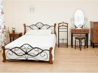 Спальный гарнитур В орех - Мебельная фабрика «Виктория-мебель», г. Омск