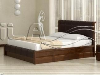 Кровать из массива Arikama 2 в спальню - Интернет-магазин «Оксана мебель», г. Муром