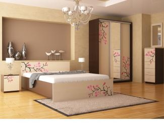 Спальный гарнитур Сакура - Мебельная фабрика «Версаль»