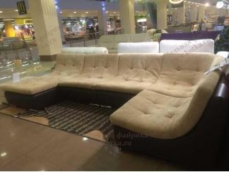 П-образный диван с плавными линиями Мираж  - Мебельная фабрика «Котка»