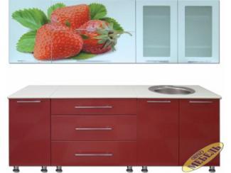 Кухня прямая 25 - Мебельная фабрика «Трио мебель»