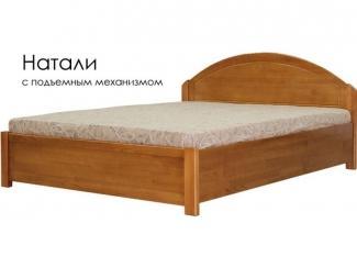 Кровать Натали из массива сосны - Мебельная фабрика «Массив»