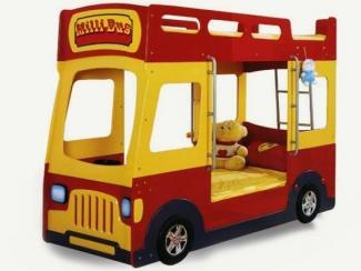 Кровать детская Milli Bus - Мебельная фабрика «Мебель-комфорт», г. Березовский