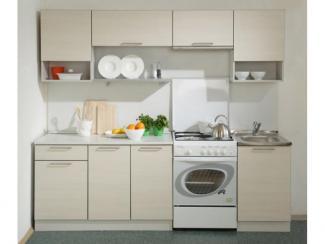 Кухонный гарнитур прямой Престиж с нишей 2400 - Мебельная фабрика «Боровичи-мебель», г. Боровичи