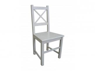 Белый стул из дерева Рома  - Мебельная фабрика «Альфа-Пик»