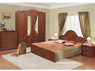 Спальня модульная Виктория-1 комплектация 2 - Мебельная фабрика «Аристократ»
