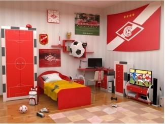 Детская Футбол-Спартак - Мебельная фабрика «ИнтерМебельДизайн»