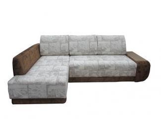 Угловой серый диван  - Мебельная фабрика «Идиллия»