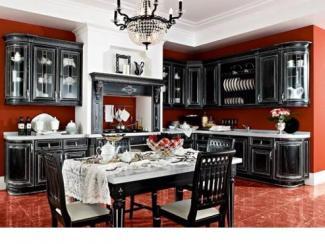 Кухня Гальяно массив - Мебельная фабрика «Илья-Сейф (Добрые кухни)»