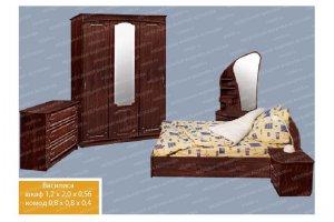 Спальный гарнитур 3 - Мебельная фабрика «МФА»