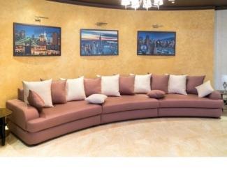 Полукруглый диван  - Мебельная фабрика «Евростиль», г. Казань