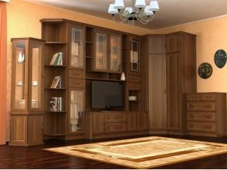 Стенка в гостиную Каскад  - Мебельная фабрика «СмолКорпусМебель»