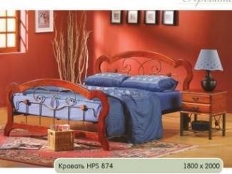 Кровать HPS 874 - Мебельная фабрика «Бис»