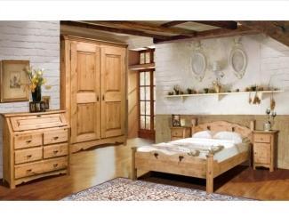 Деревянная спальня - Мебельная фабрика «Домашняя мебель»