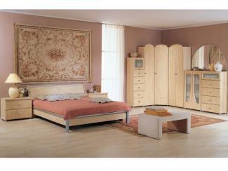 Спальный гарнитур «Элегант» - Мебельная фабрика «Элегия»