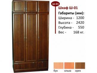 Шкаф Ш-01 - Мебельная фабрика «Милайн»