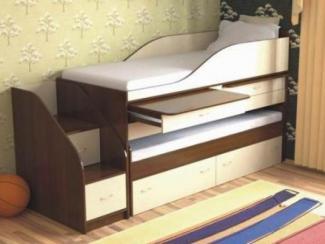 Кровать детская Дуэт 8 - Мебельная фабрика «Мезонин мебель»