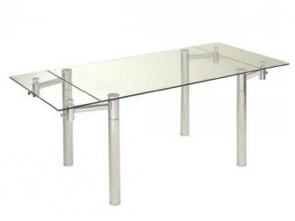 Раскладной стеклянный стол  - Мебельная фабрика «Фран»