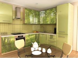 Кухня с фотопечатью KF 10 - Мебельная фабрика «FSM (Фабрика Стильной Мебели)»