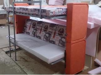 Диван- трансформер в двухъярусную кровать ТАНДЕМ - Мебельная фабрика «Палитра»