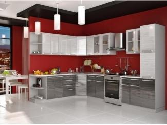 Яркая кухня Пелагея  - Мебельная фабрика «Гермес»
