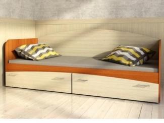 Кровать детская с 2 ящиками  - Мебельная фабрика «Ваша мебель»