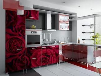 Кухонный гарнитур угловой 10 фотопечать - Мебельная фабрика «Виктория»