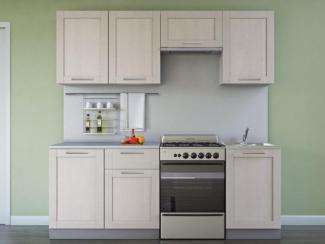 Кухонный гарнитур прямой Симпл Массив 2100 мм - Мебельная фабрика «Боровичи-мебель», г. Боровичи