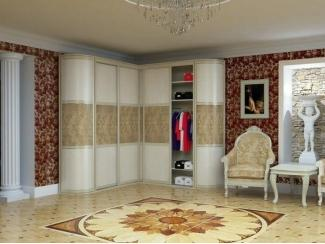 Радиусный шкаф-купе Нарайна 5 - Мебельная фабрика «Альбина»