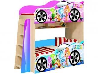 Двухъярусная кровать  Фиксики модель 4 - Мебельная фабрика «ПМК ВиП»