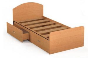 Кровать КР 01 с ящиками - Мебельная фабрика «Милайн», г. Смоленск