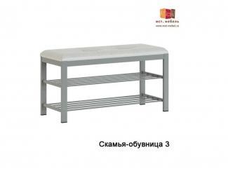 Скамья-обувница 3 - Мебельная фабрика «МСТ. Мебель», г. Ижевск