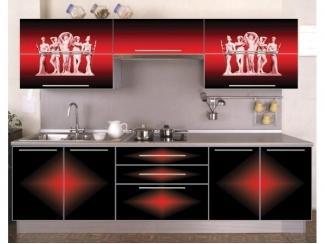 Кухня с фотопечатью Архитектура  - Мебельная фабрика «Мебель России»