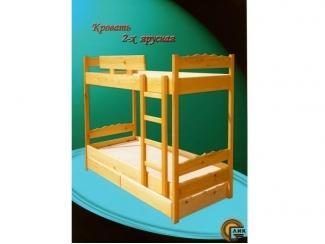 Двухъярусная кровать  - Мебельная фабрика «Лик»
