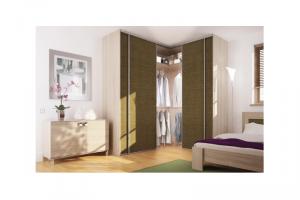 Угловой Шкаф-купе в спальню - Мебельная фабрика «Командор»