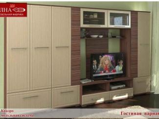 Гостиная стенка Квадро вариант 4 - Мебельная фабрика «Элна»