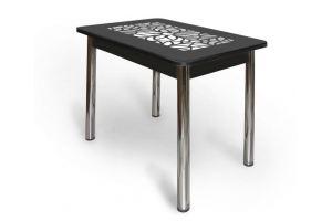 Стеклянный ажурный стол АС 001 - Мебельная фабрика «Александрия», г. Ульяновск