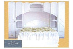 Спальный гарнитур 6 - Мебельная фабрика «МФА»