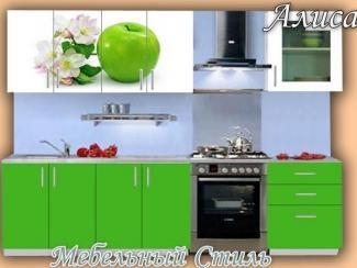 Кухонный гарнитур прямой Алиса1 - Мебельная фабрика «Мебельный стиль»