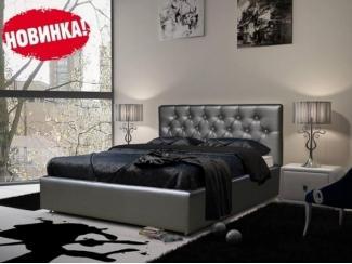 Кровать Верона с мягким изголовьем и подъемным механизмом - Мебельная фабрика «Мебельный комфорт»