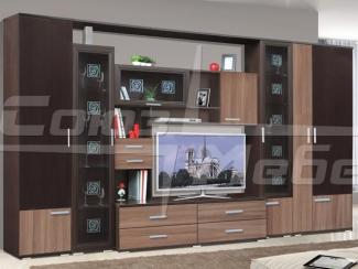 Гостиная стенка Статус ясень шимо - Мебельная фабрика «Союз-мебель»