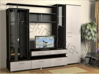 Черно-белая гостиная Диана  - Мебельная фабрика «Ангелина-2004»