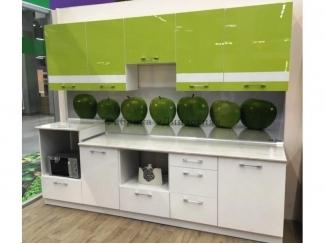 Кухня с фасадами из пластика  - Мебельная фабрика «Династия»