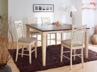 Стол 547-Т21-1 Golden Cherry Base/Cream White Colour - Импортёр мебели «М-Сити (Малайзия)»