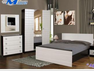 спальня «Афина»  МДФ - Мебельная фабрика «Мир Мебели»