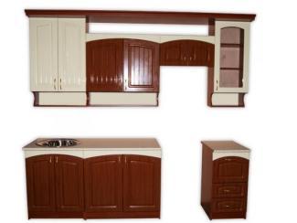 Кухня прямая Амелия - Мебельная фабрика «Мебель эконом»