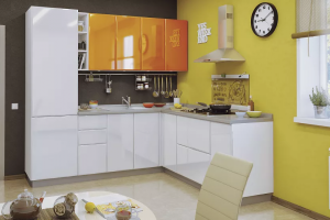 Угловая кухня Ланс - Изготовление мебели на заказ «Кухни ЧУ»