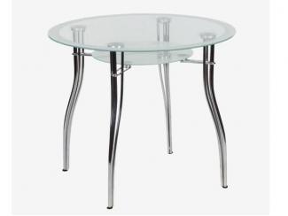Стеклянный обеденный стол  - Мебельная фабрика «Кухни Медынь»