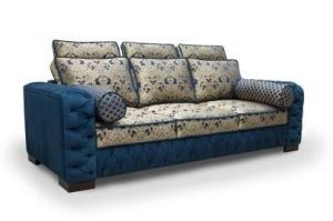 Прямой диван Кит 15 - Мебельная фабрика «Лео»
